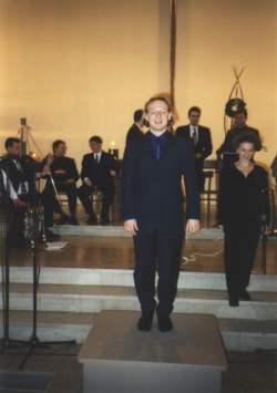 Chorleiterübergang Joachim Hempel - Patricia Johansson